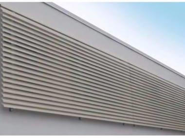 Solar shading STEEL FIX - ALL FIX