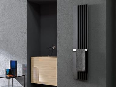 Dual energy extruded aluminium decorative radiator STEP-BY-STEP