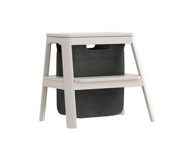 Oak step stools STEP IT UP