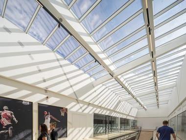 Finestra da tetto in acciaio e vetro STEP LONGLIGHT/RIDGELIGHT
