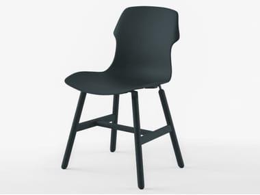 Cadeira de polipropileno STEREO METAL POLYPROPYLENE