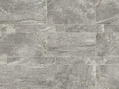 Pavimento in gres porcellanato a tutta massa per interni ed esterni STONE PLAN Luserna grigia