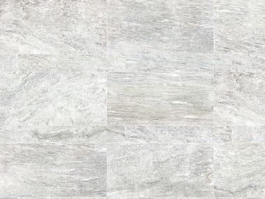 Revêtement de sol en grès cérame pleine masse pour intérieur et extérieur STONE PLAN Vals bianca