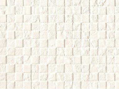 White-paste mosaic STONE PLAN WALL Bianco