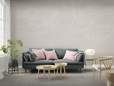 White-paste 3D Wall Tile STONEHILL