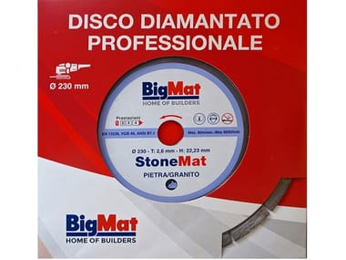 Disco diamantato STONEMAT