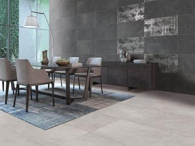 Pavimento/rivestimento in gres porcellanato effetto pietra STONEPLUS