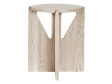 Sgabello / tavolino in legno Sgabello