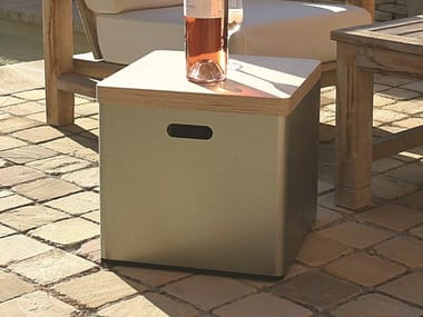 Garden side table / cool box STOOL***