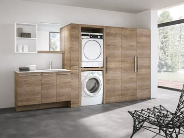 Laundry room cabinet STORE 405
