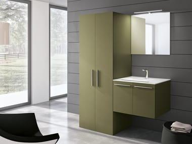 Mobile lavanderia a colonna con lavatoio STORE 410