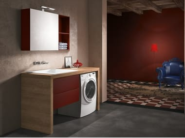 Laundry room cabinet for washing machine STORE 414