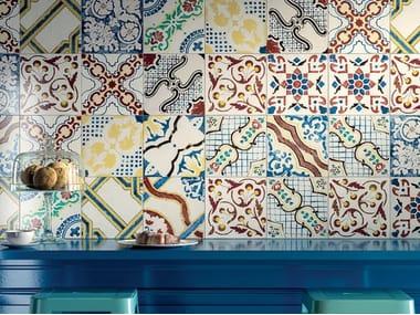 Pavimento/rivestimento in gres porcellanato STORIE D'ITALIA MIX