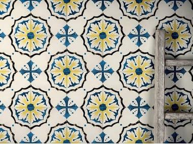 Pavimento/rivestimento in gres porcellanato effetto cementine STORIE D'ITALIA S1