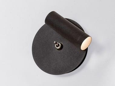 LED adjustable powder coated aluminium reading lamp STRAIGHT MICRO READ