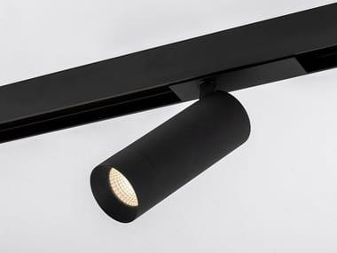 Illuminazione a binario a LED in alluminio verniciato a polvere STRAIGHT XL MAGNETIC
