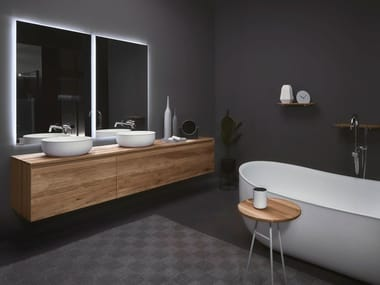 Wooden bathroom furniture set STRATO | Wooden bathroom furniture set