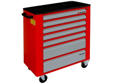 Warehouse cart ASSEMBLY TROLLEY STRATOS