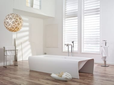 Freestanding Cristalplant® bathtub STRIP | Bathtub