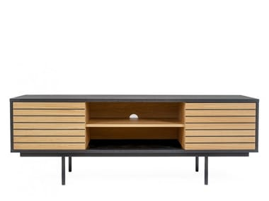 TV cabinet with doors STRIPE | TV cabinet