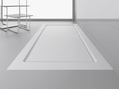 Rectangular extra flat shower tray STUDIO PLUS