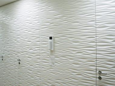 3D MDF wave panels STYLE