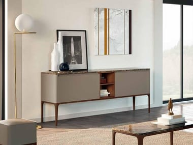 Lacquered ash sideboard with doors SU14 | Sideboard