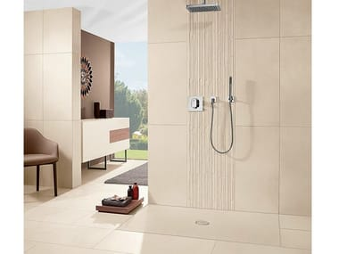 Ceramic shower tray SUBWAY INFINITY