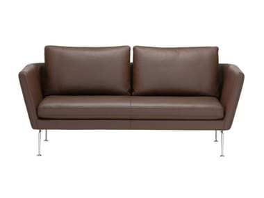 2 seater sofa with removable cover SUITA SOFA 2-SEATER