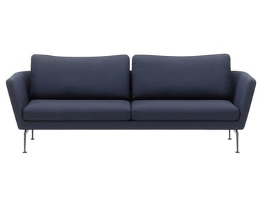 3 seater sofa with removable cover SUITA SOFA 3-SEATER