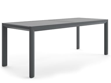 Extending aluminium garden table SUMMER
