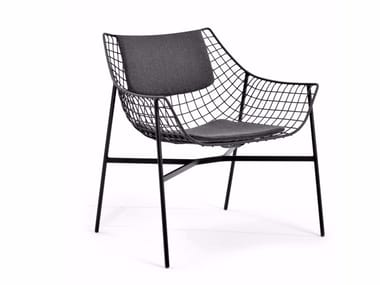 Garden steel easy chair SUMMER SET | Easy chair