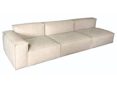 Sectional modular fabric sofa SUMO