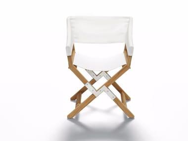 Folding garden chair with armrests SUNDANCE OUTDOOR