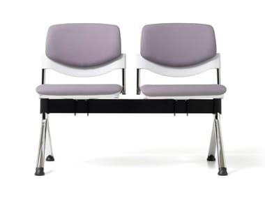 Fabric beam seating SUNNY NEW | Beam seating
