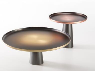 Tavolino rotondo in metallo SUNRISE & SUNSET