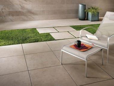 Pavimento in gres porcellanato effetto pietra SUNROCK | Pavimento in gres porcellanato