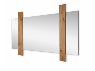 Rectangular wall-mounted mirror SUNSET | Rectangular mirror