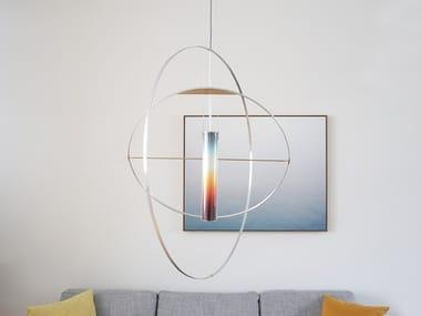 Lampada a sospensione a LED fatta a mano SUNset