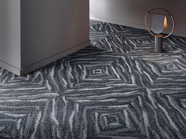 Patterned ECONYL® carpeting SUPERIOR 1028 SL SONIC