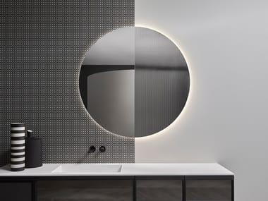 Specchio rotondo da parete per bagno SUPERLUNA