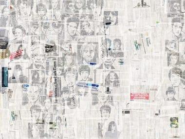 Papel de parede pop art SUPERSTAR