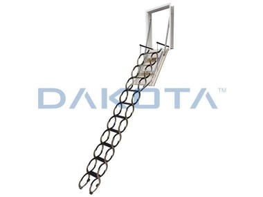 Steel Retractable stair SUPRA WALL