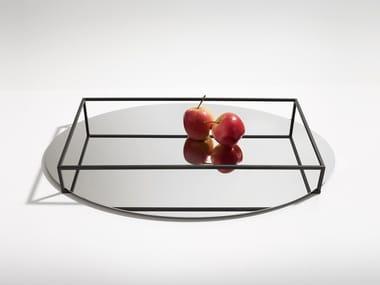 Vassoio / portafrutta in metallo SURFACE + BORDER NO. 2