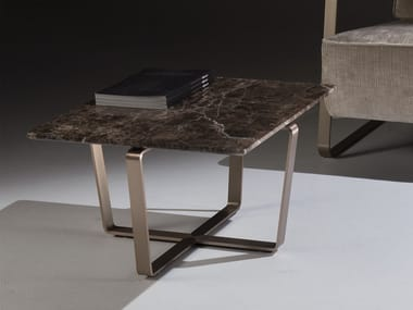 Square marble coffee table SUSHI | Coffee table