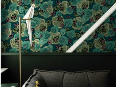 Wallpaper with floral pattern SUZANNE
