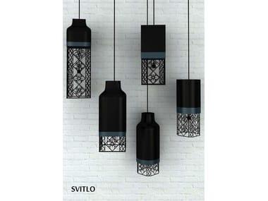 Steel pendant lamp SVITLO | Steel pendant lamp