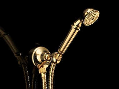 Wall-mounted handshower with bracket SWAN | Wall-mounted handshower
