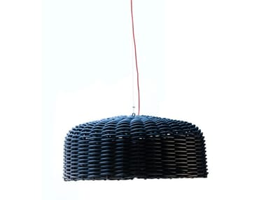 Plastic pendant lamp SWEET 95