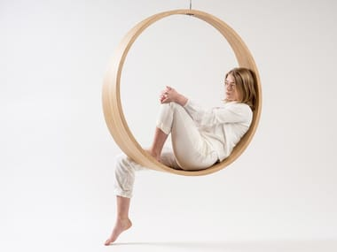 Swing wooden armchair SWING N.2 | Wooden armchair